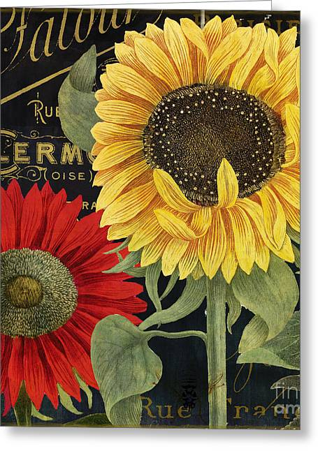 October Sun II Greeting Card by Mindy Sommers
