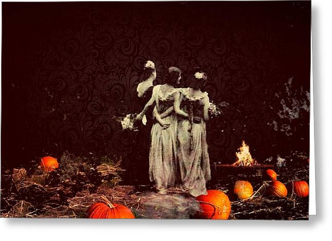 Samhain greeting cards page 7 of 8 fine art america october greeting card m4hsunfo