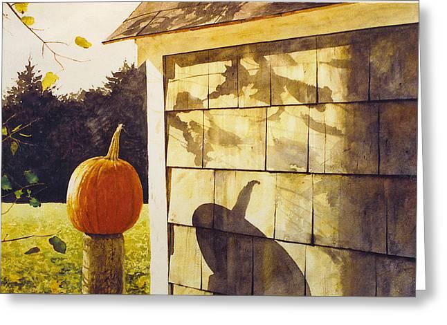 October Greeting Card