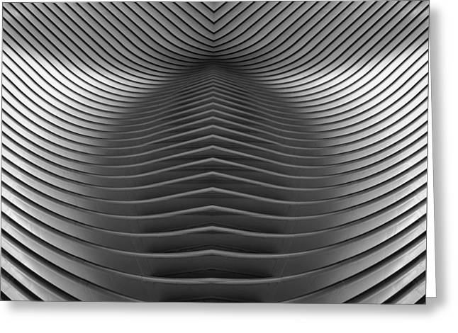 Oculus Abstract Greeting Card