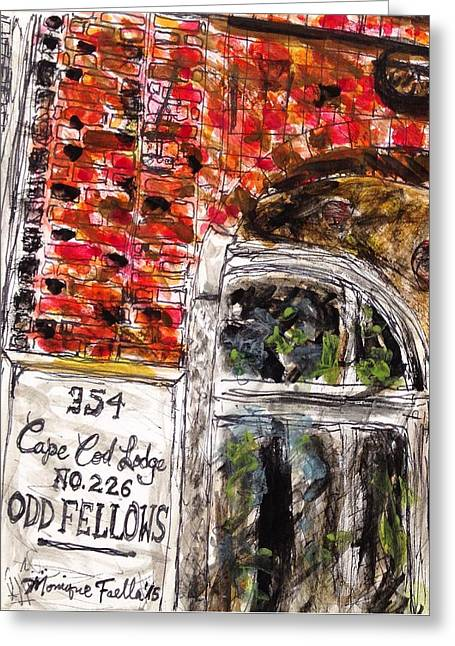 Odd Fellows, Cape Cod Greeting Card