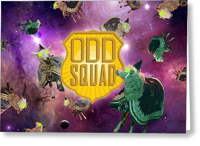 Odd Squad - Time Sheep Greeting Card by Odd Squad
