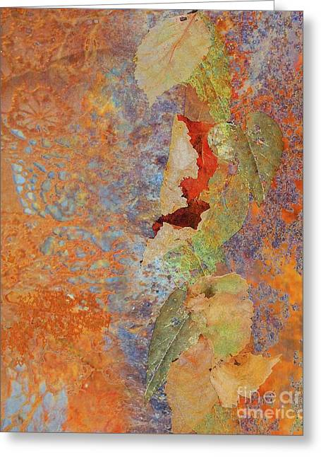 Ode To Fall Greeting Card by Desiree Paquette