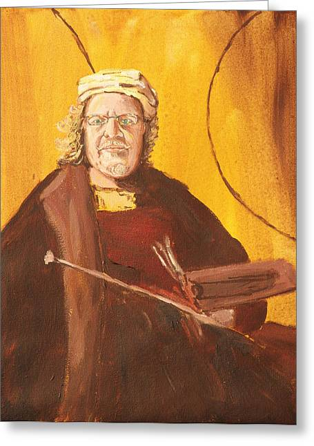 Ode To Rembrandt Greeting Card by Kevin Callahan