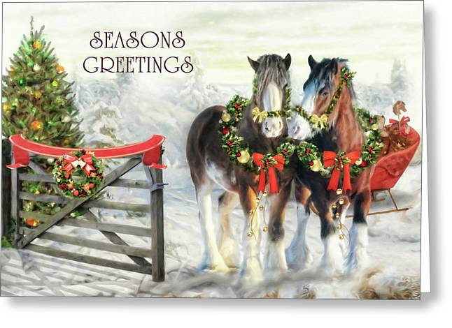 Of Christmas Past  Greeting Card