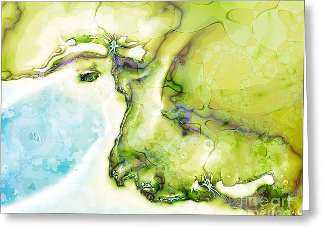 Of Earth And Water Greeting Card