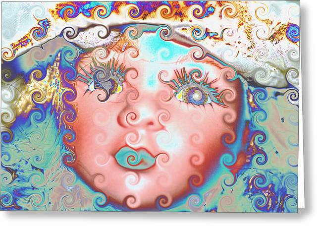 Of Many Colors Greeting Card