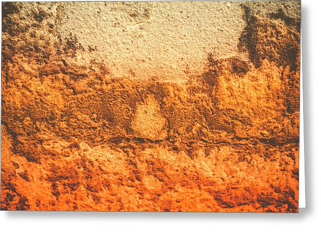 Greeting Card featuring the photograph Of Sunsets And Stone 3 by Christi Kraft