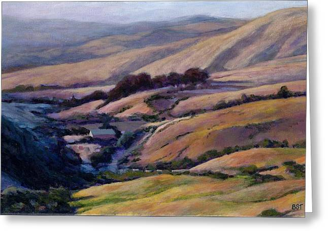 Off Jalama Road Greeting Card