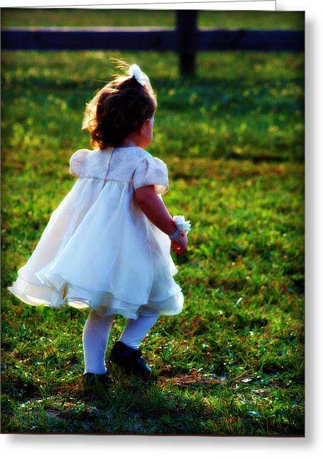 Off She Grows Greeting Card