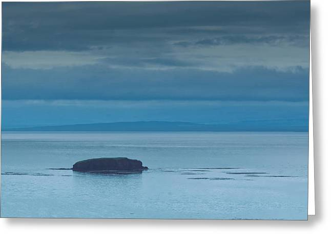 Greeting Card featuring the photograph Off The Iceland Coast by Joe Bonita
