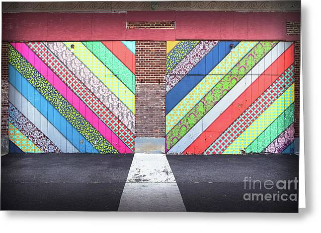 Greeting Card featuring the photograph Off The Wall - Double by Colleen Kammerer