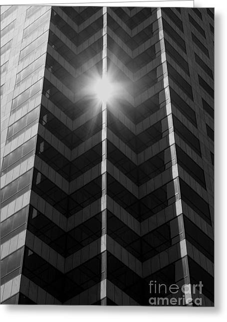 Office Art - Black And White Greeting Card