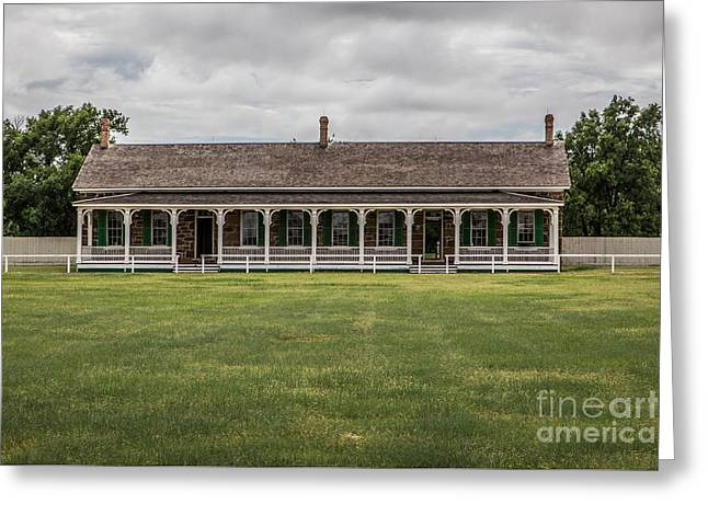 Officer Quarters Greeting Card by Lynn Sprowl