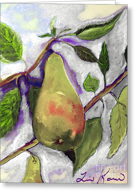 Official Fruit Of Oregon Painting Greeting Card by Lisa Kaiser