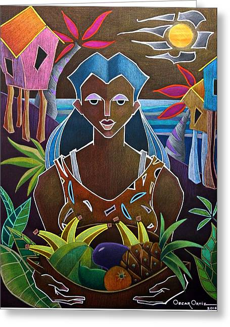Ofrendas De Mi Tierra II Greeting Card