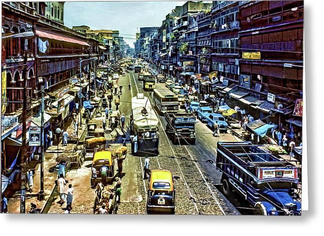 Oh Calcutta 2 Greeting Card by Steve Harrington