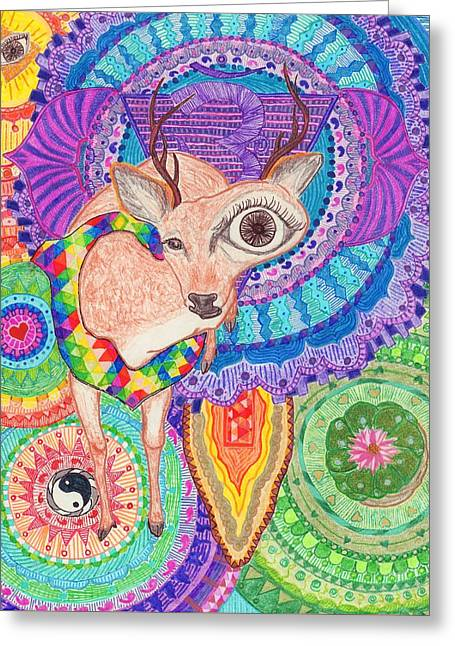 Oh Deer Greeting Card