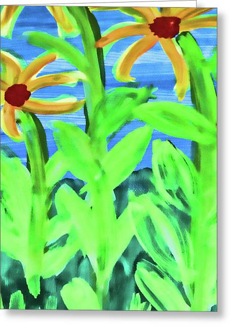 Oh Glorious Day Floral Greeting Card