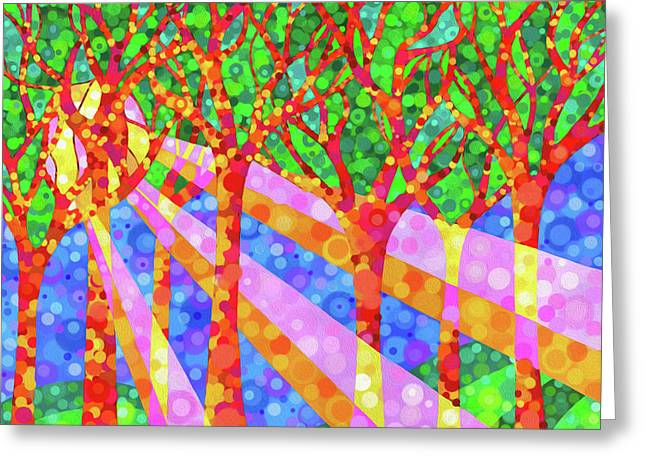 Oh Happy Day Greeting Card by Jennifer Allison