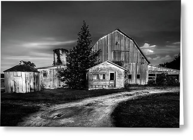 Ohio Barn At Sunrise Greeting Card