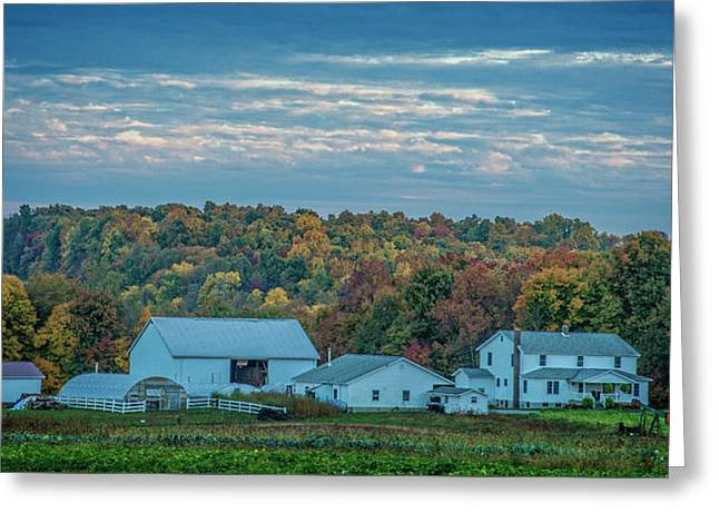 Greeting Card featuring the photograph Ohio Farm by David Waldrop
