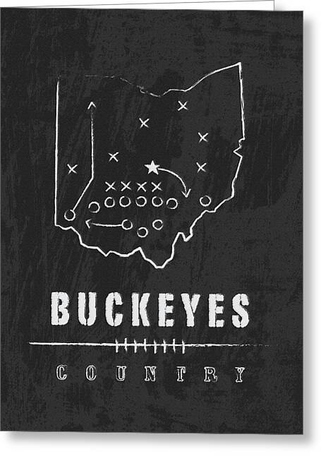 Ohio State Buckeyes Country Greeting Card