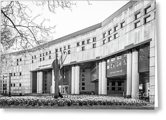 Ohio State University College Of Law Greeting Card by University Icons