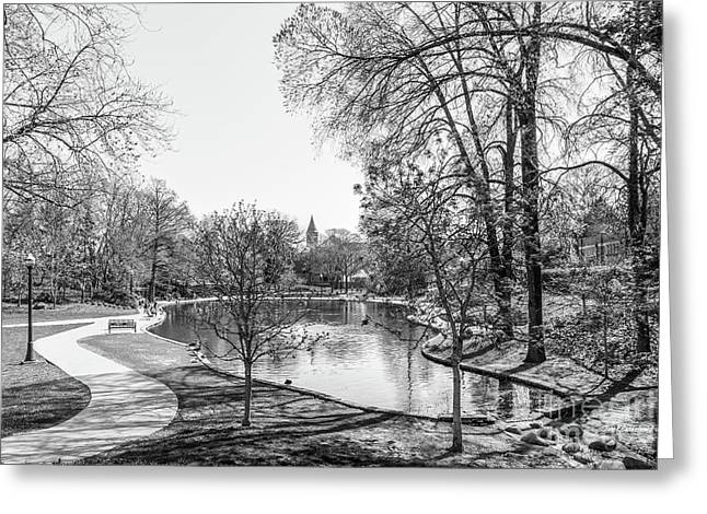 Ohio State University Mirror Lake Greeting Card by University Icons