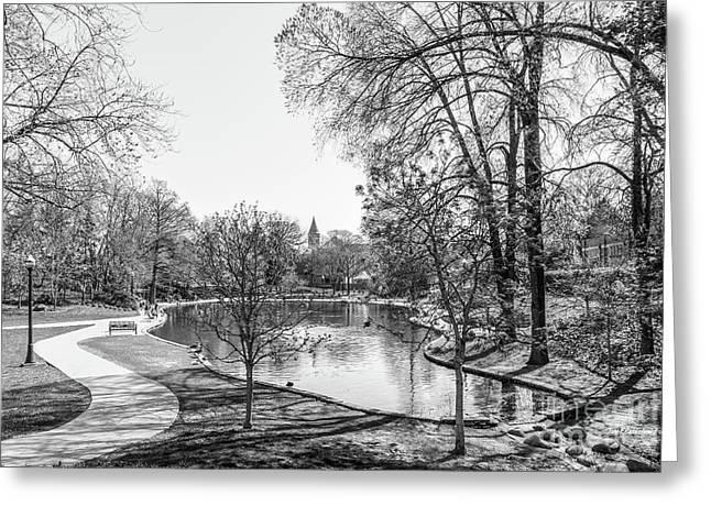 Ohio State University Mirror Lake Greeting Card by University Icons