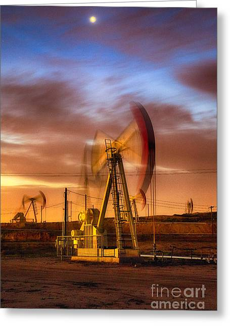 Oil Rig 1 Greeting Card