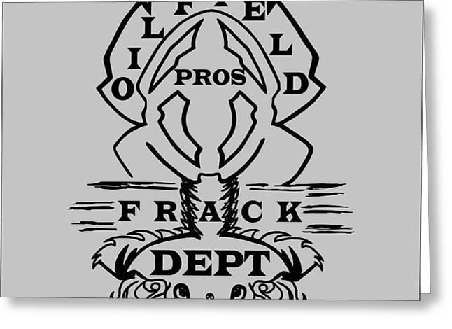 Oilfield Pros Greeting Card