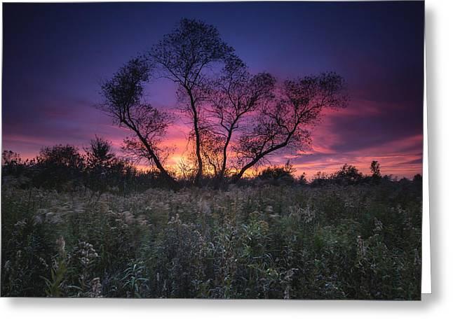 Ojibway Sunset Greeting Card