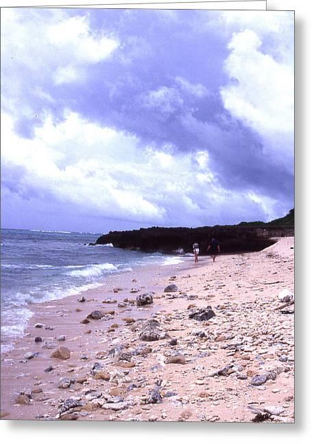 Okinawa Beach 15 Greeting Card by Curtis J Neeley Jr