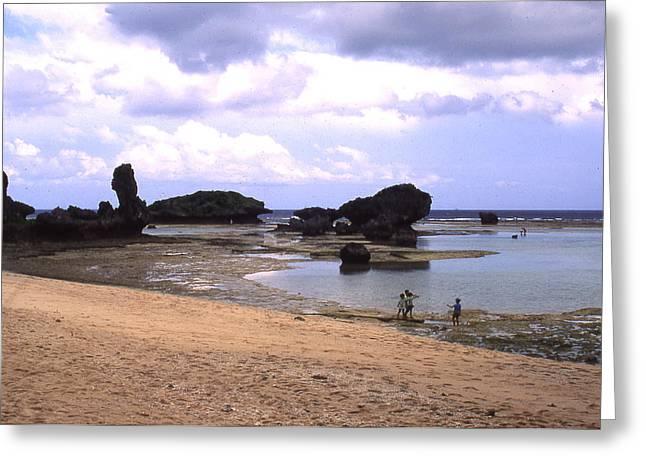 Okinawa Beach 18 Greeting Card by Curtis J Neeley Jr