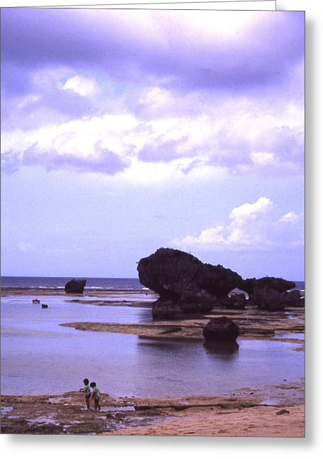 Okinawa Beach 20 Greeting Card by Curtis J Neeley Jr