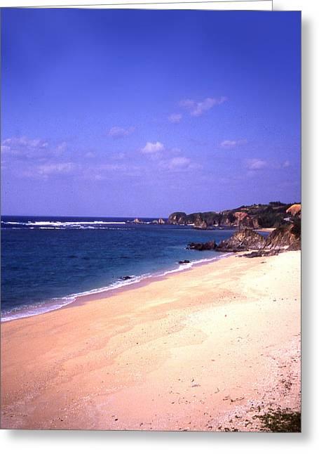 Okinawa Beach 22 Greeting Card by Curtis J Neeley Jr
