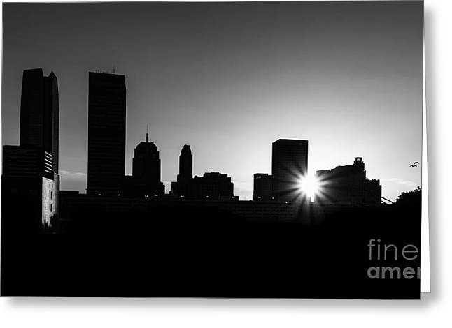 Greeting Card featuring the photograph Oklahoma City by Betty LaRue