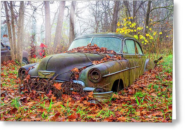 Ol' 49 Chevy Coupe Greeting Card