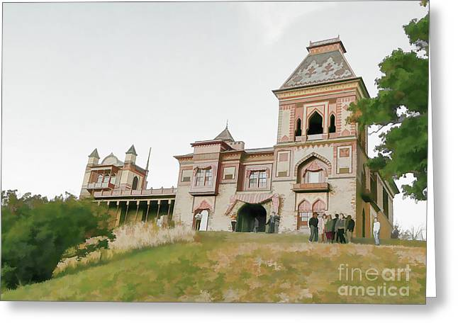 Olana State Historic Site In Hudson 1 Greeting Card by Lanjee Chee