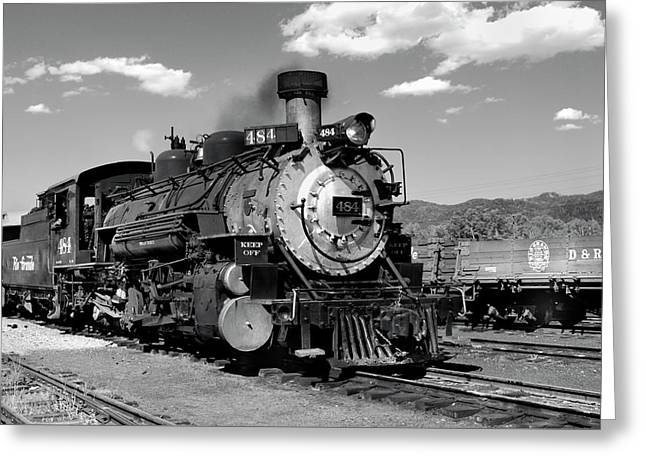 Greeting Card featuring the photograph Old 484 I by Ron Cline