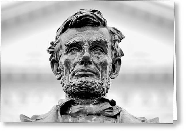 Old Abe Greeting Card by Todd Klassy