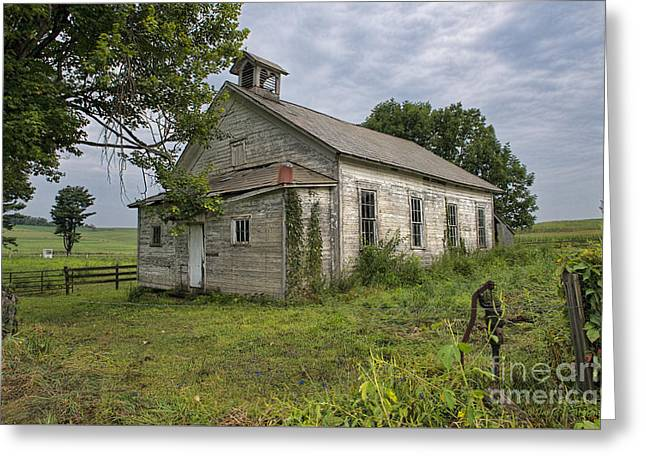 Old Amish School House Greeting Card