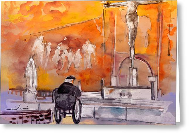 Old And Lonely In Portugal 02 Greeting Card by Miki De Goodaboom