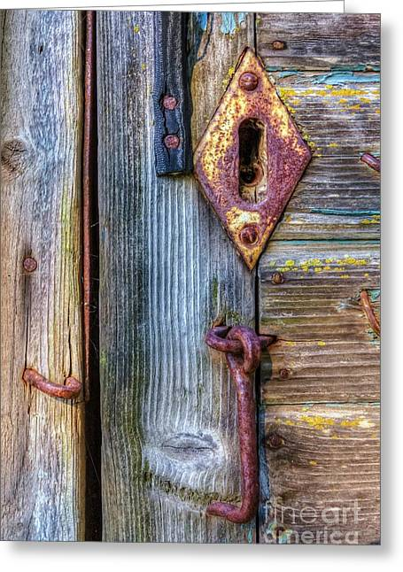 Old And Rusty Greeting Card