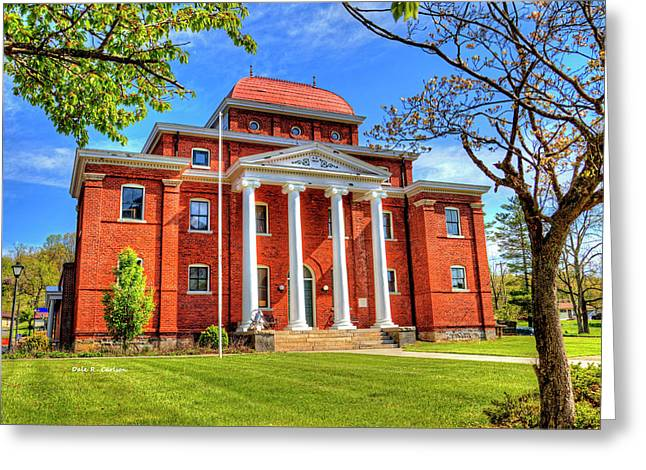 Old Ashe Courthouse Greeting Card by Dale R Carlson