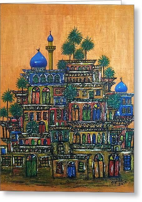 Old Baghdad Greeting Card