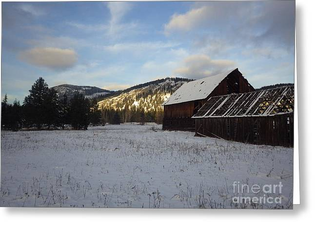 Greeting Card featuring the photograph Old Barn 2 by Victor K