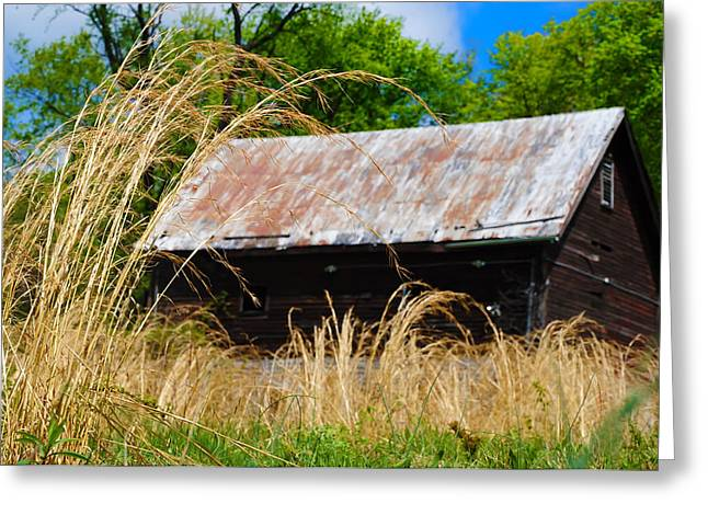 Old Barn In Roxborough Greeting Card by Bill Cannon