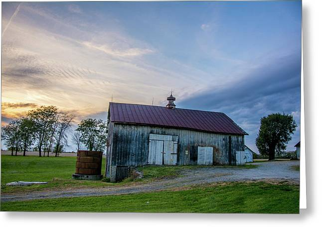 Old Barn On 741 Greeting Card by Randall Branham